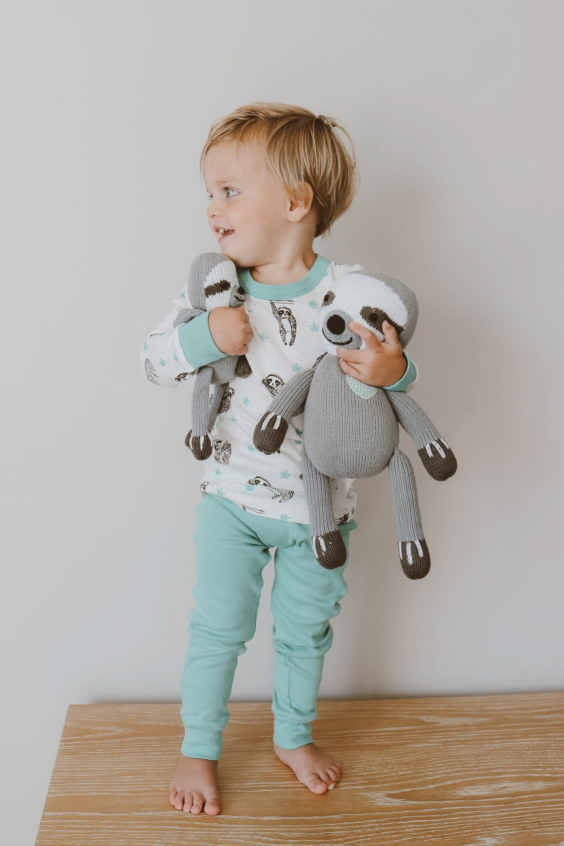 Children's Sloth Pajama Set