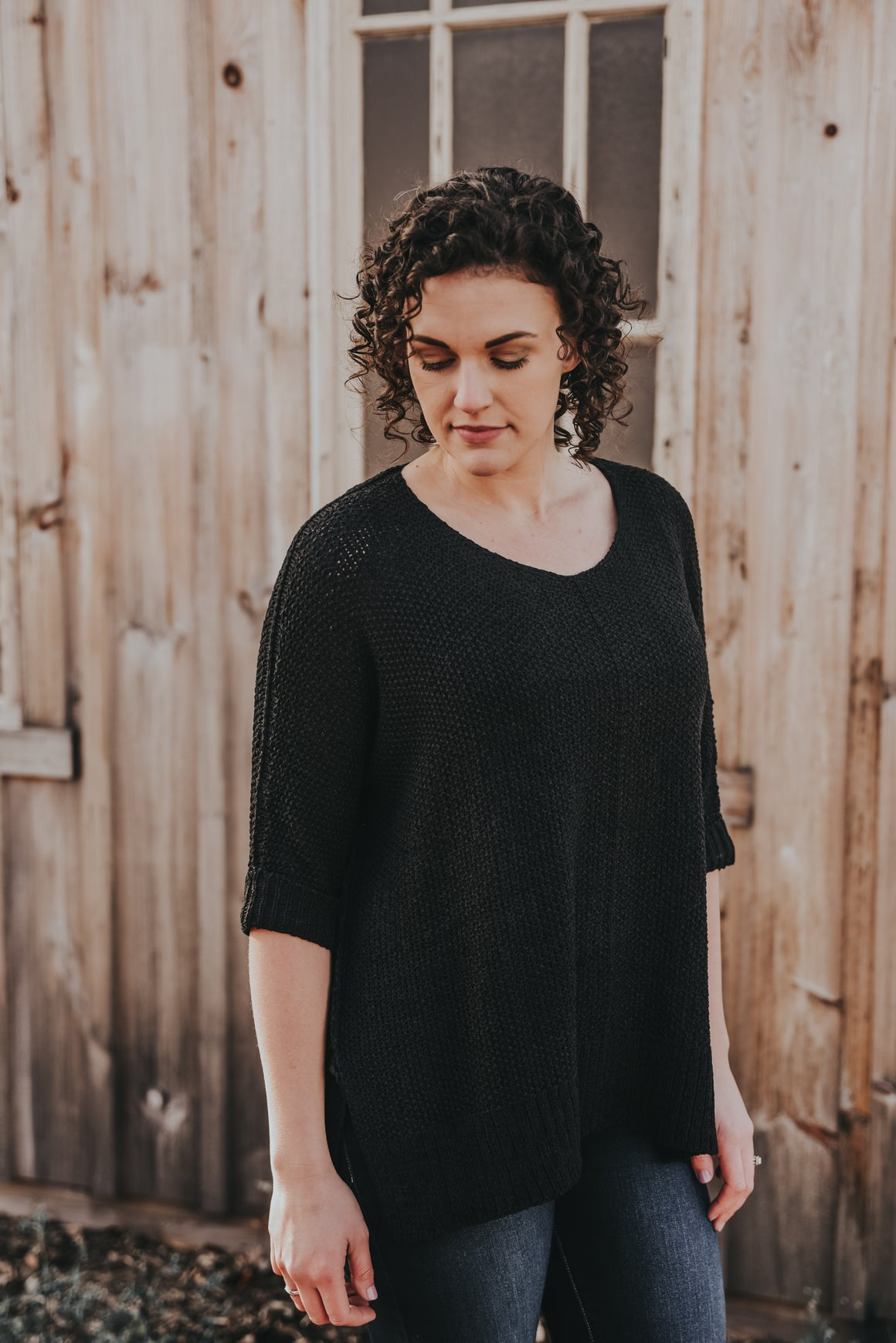 Women's Black Sweater