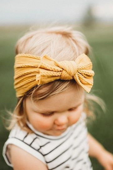 Kids Cable Knit Headwrap