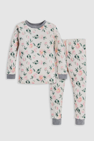 Children's Organic Floral Pajama Set