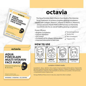 Aqua Porcelain Multi-Vitamin Face Mask