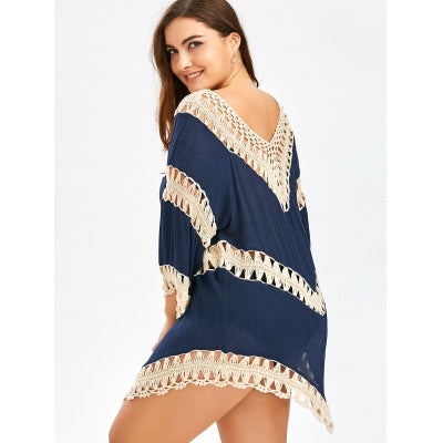 Women's lacrosse one Size Crochet Cover-Up 4 colors