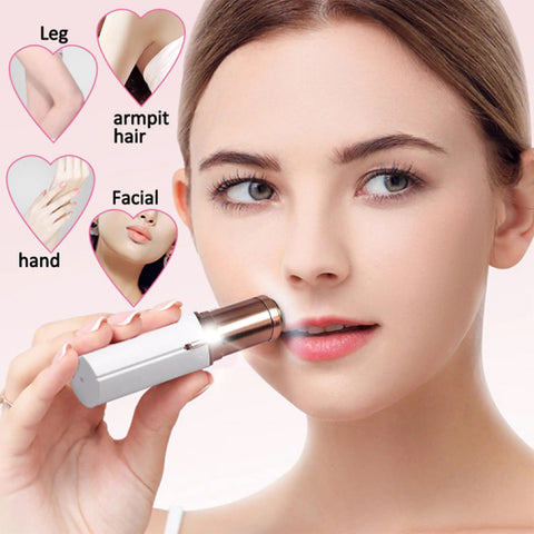 Mini Electric Body Facial Hair Remover Razor Epilator