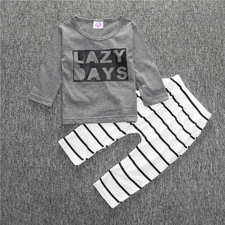 Baby Toddler Cotton shirt, pants 2 pcs clothes set 23styles & colors - ozsweetdeals
