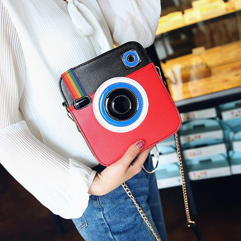 Fun Camera Crossbody Purse