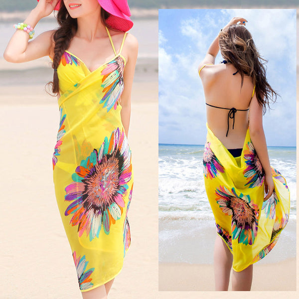 Women's Summer Beach Sarongs Swimsuit Cover Up - ozsweetdeals