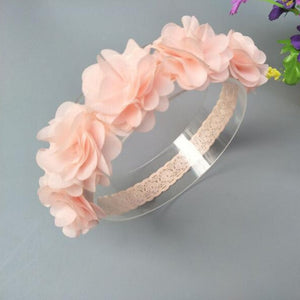 Baby Toddler Flower Handmade Headband - ozsweetdeals