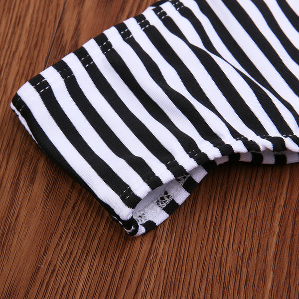 Women's  Stripe Swimsuit