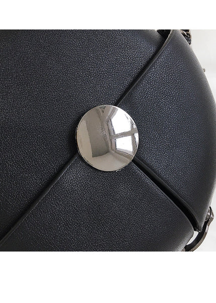 Round Chain Messenger Bag