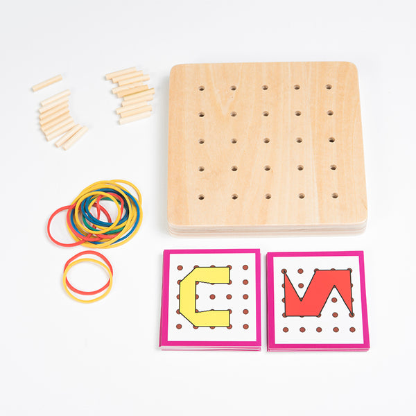 Creative Graphics Rubbers and Board with Cards Educational Toy - ozsweetdeals