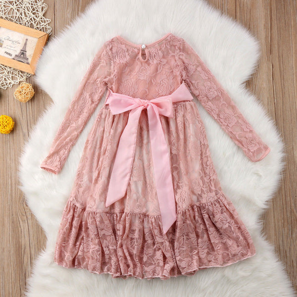 Lace Fairy Longuette Dress