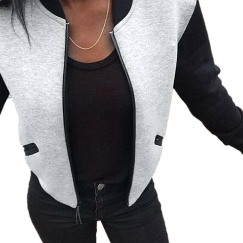 Women's Long Sleeve Jacket - ozsweetdeals