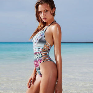 Women's One-Piece Design Bikini Swimsuits
