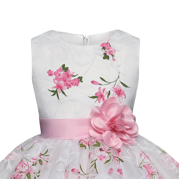 Girls Clothes Wedding Events Flower Girl Birthday Party Dress - ozsweetdeals