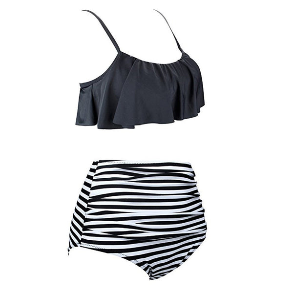 Women's High Waist Bikinis Swimwear - ozsweetdeals