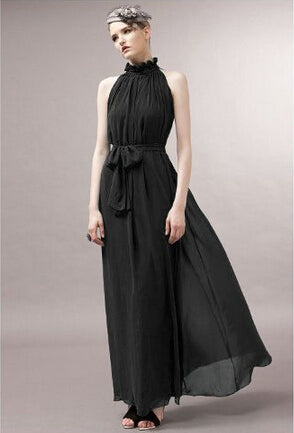 Women's Halter Long Dress - ozsweetdeals