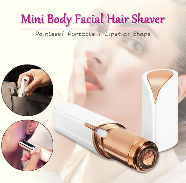 Mini Electric Body Facial Hair Remover Bikini Body Neck Leg Hair Removal Tool - ozsweetdeals