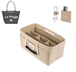 LONGCHAMPS LE PLIAGE M Organizer GIFTS INCLUDED : Cable Holders+Lipstick Holders / Mini Wallet[Maldives Sand]