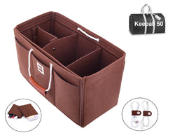 Keepall 50 Organizer GIFTS INCLUDED : 2Cable Holders+2 Lipstick Holders / Mini Wallet