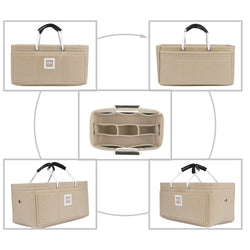CÉLINE Micro Luggage Organizer GIFTS INCLUDED : Cable Holders+Lipstick Holders / Mini Wallet[Maldives Sand]