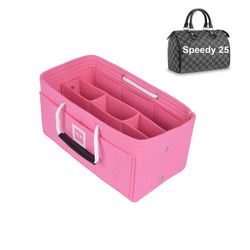 Louis Vuitton SPEEDY 25 Organizer [Bubblegum Pink]