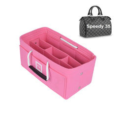 Louis Vuitton SPEEDY 35 Organizer [Bubblegum Pink]