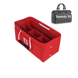 Louis Vuitton SPEEDY 35 Organizer [Sexy Red]