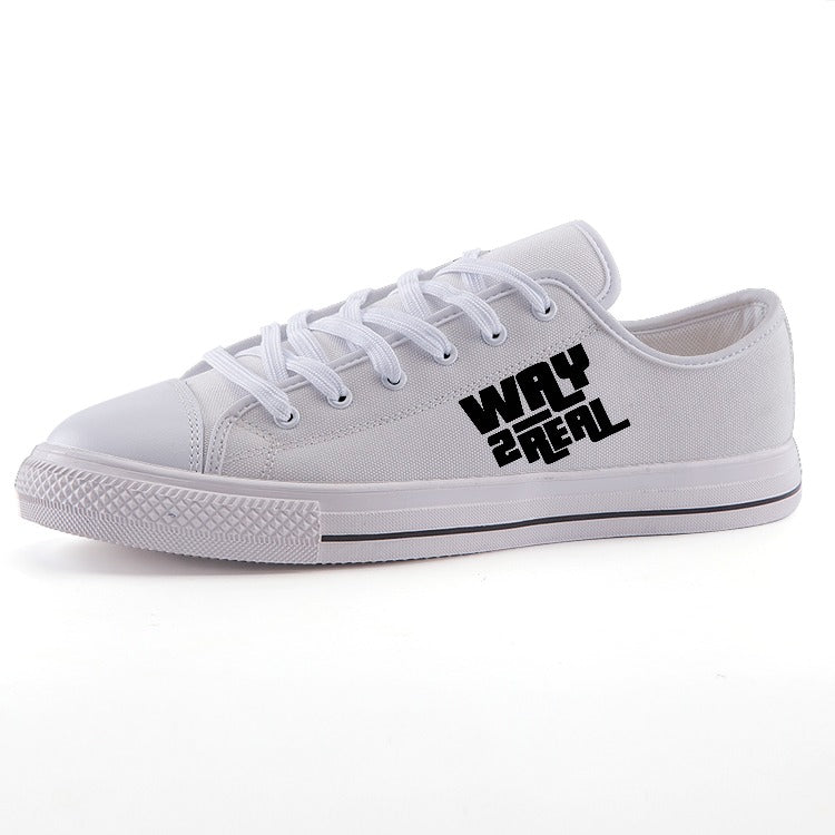 #W2R Low-top fashion canvas shoes