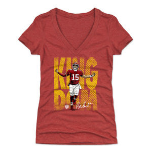 Patrick Mahomes Women's V-Neck T-Shirt | 2PM LLC