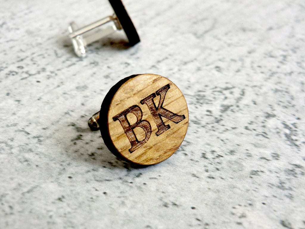 Personalized Wooden Cufflinks Groomsmen Gift Ideas Groomsmen Cufflinks Groom Gift Wedding Cufflinks Wedding Gifts For Men Best Man Gift