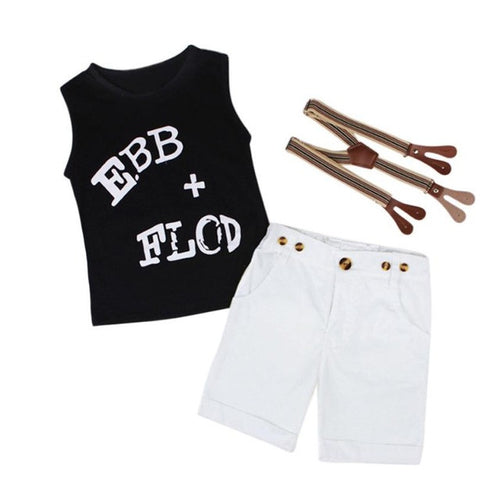 Little Gentlemen 3PCS Suspender Set