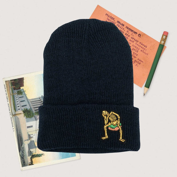 Rowing Blazers Derry Bones Wool Beanie