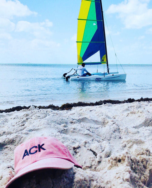 Nantucket Reds Collection ACK Baseball Hat in Key West