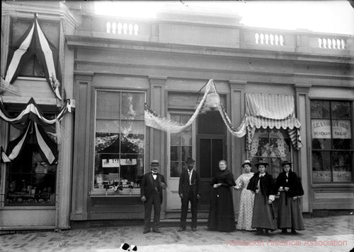 Old Photo Murrays Toggery Shop Nantucket