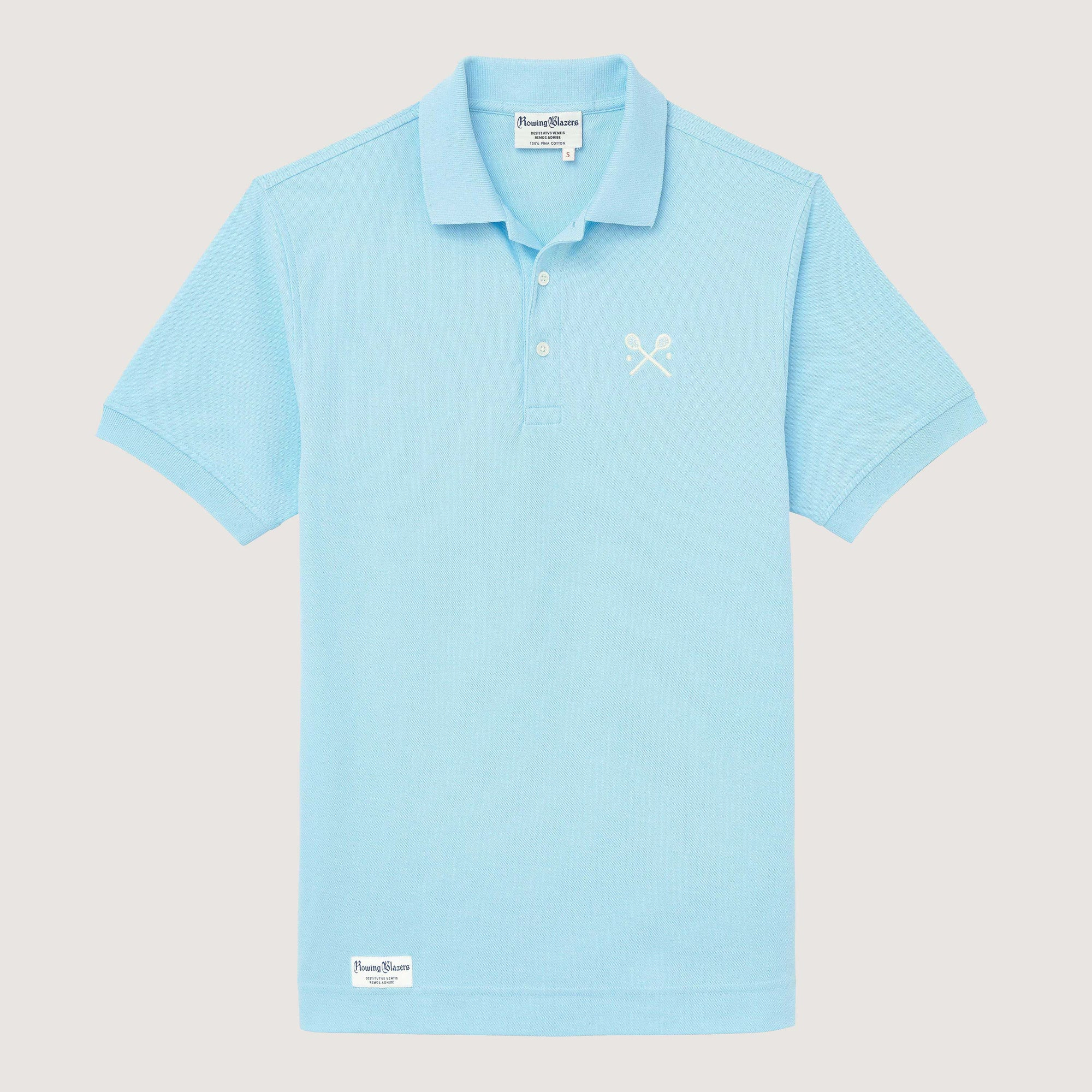 Rowing Blazers Lacrosse Tennis Shirt Light Blue