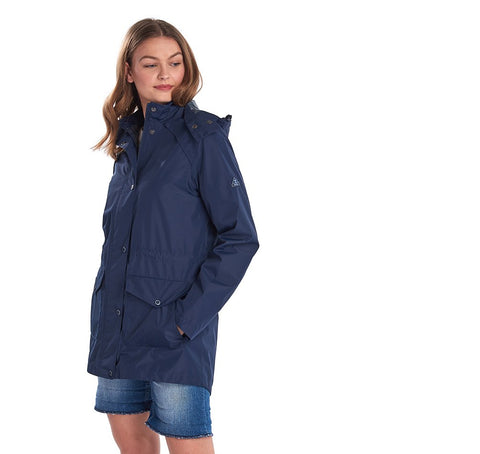 Barbour Ladies Deepsea Jacket Navy