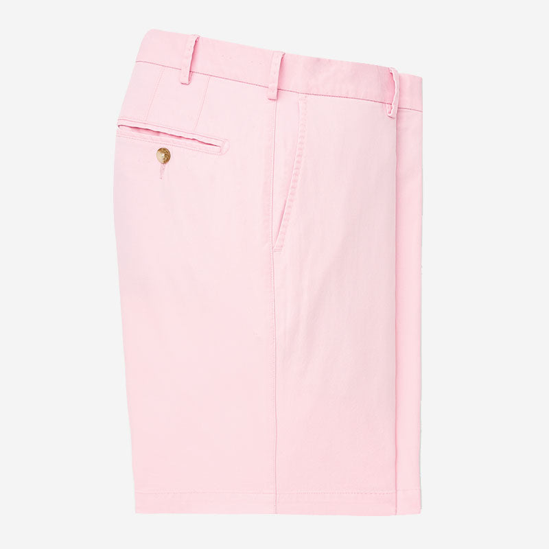 Peter Millar Soft Touch Twill Short Palmer Pink