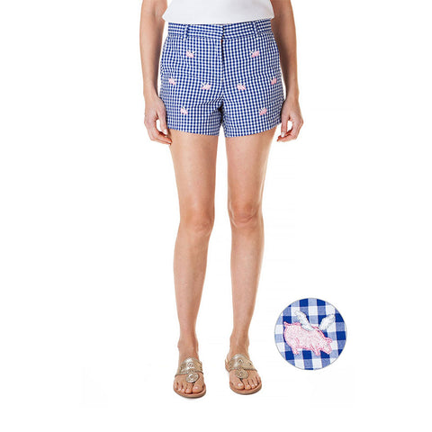 Castaway Ladies Crew Short Pig