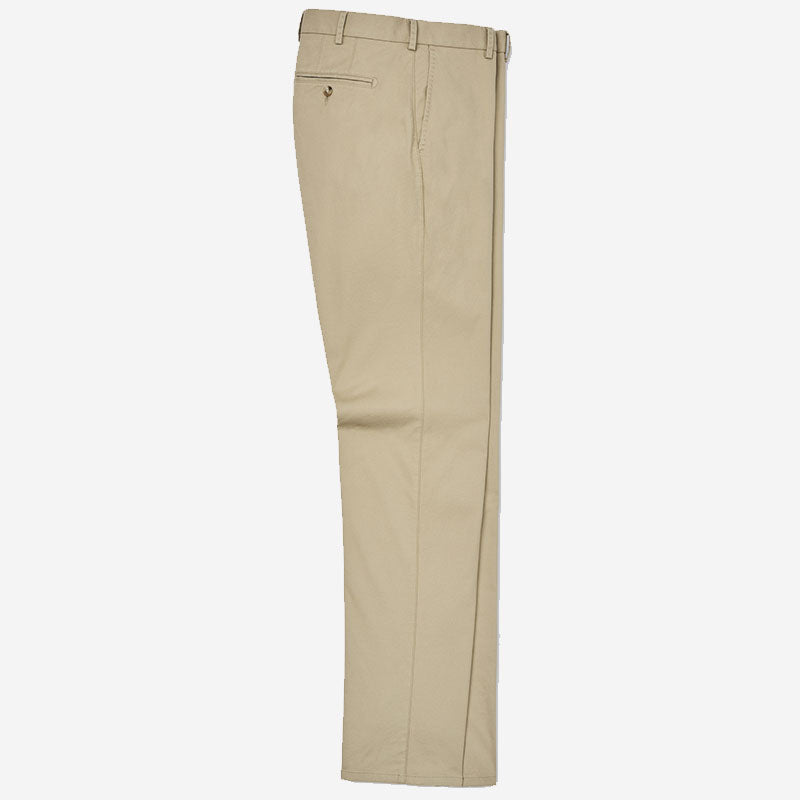 Peter Millar Soft Touch Twill Trouser Khaki