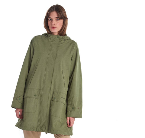 Barbour Ladies Waterproof Lottie Jacket Bay Leaf Marl