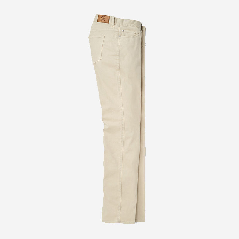 Peter Millar Ultimate Sateen 5 Pocket Pant Sand