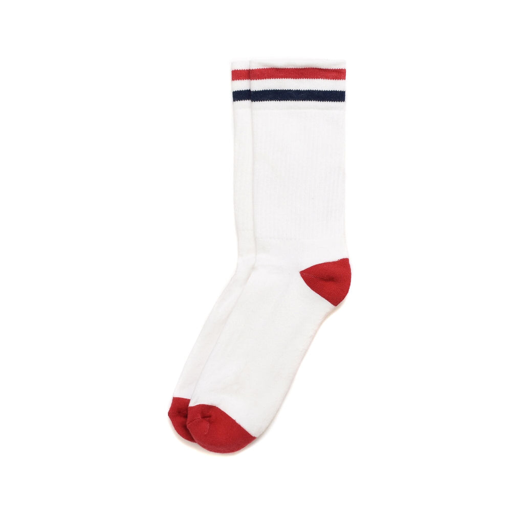 American Trench Kennedy Luxe Athletic Socks White