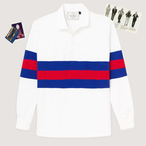 Rowing Blazers 70's Stripe Authentic Heavyweight Rugby