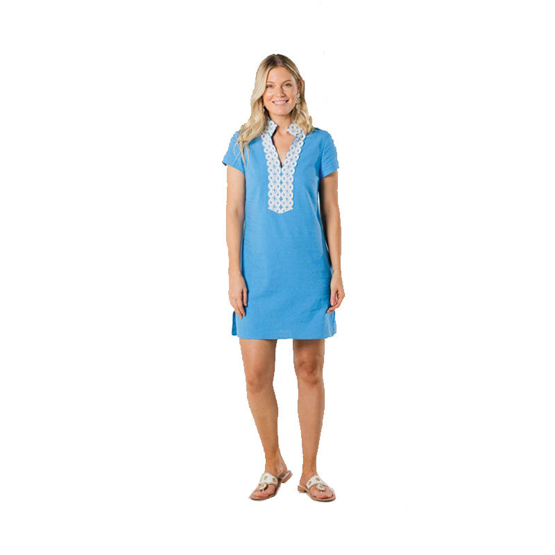 Sail to Sable Classic Tunic Dress Marina