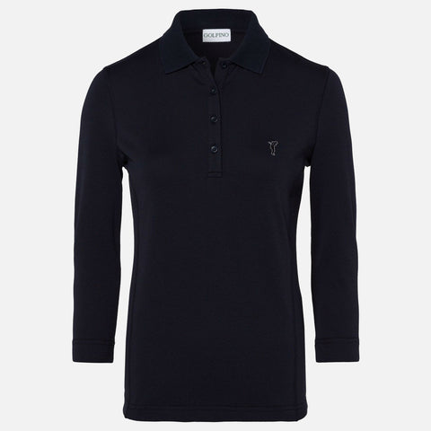 Golfino The Sun Protection 3/4 Sleeve Polo