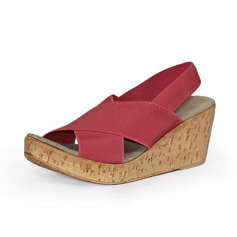 Charleston Shoe Company Med Sandal - Nantucket Red