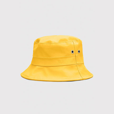 Stutterheim Beckholmen Waterproof Bucket Hat - Yellow