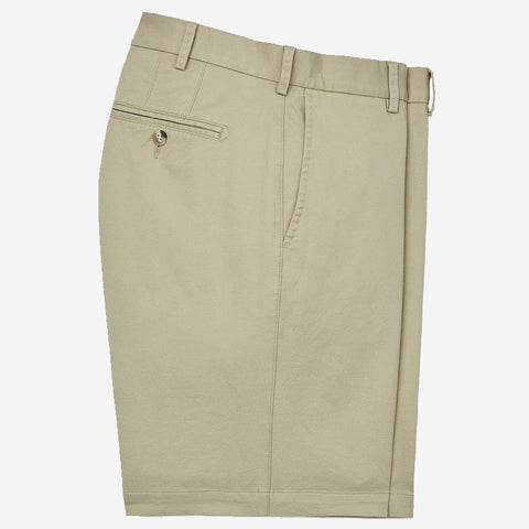 Peter Millar Soft Touch Twill Short Khaki