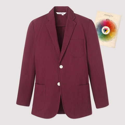 Rowing Blazers Rec Jacket Burgundy
