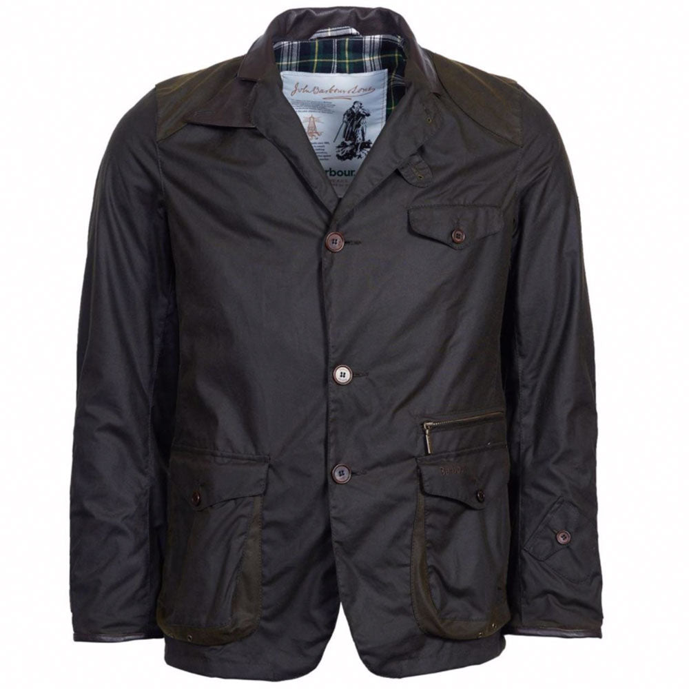 Barbour Icons Beacon Sports Wax Jacket - Olive